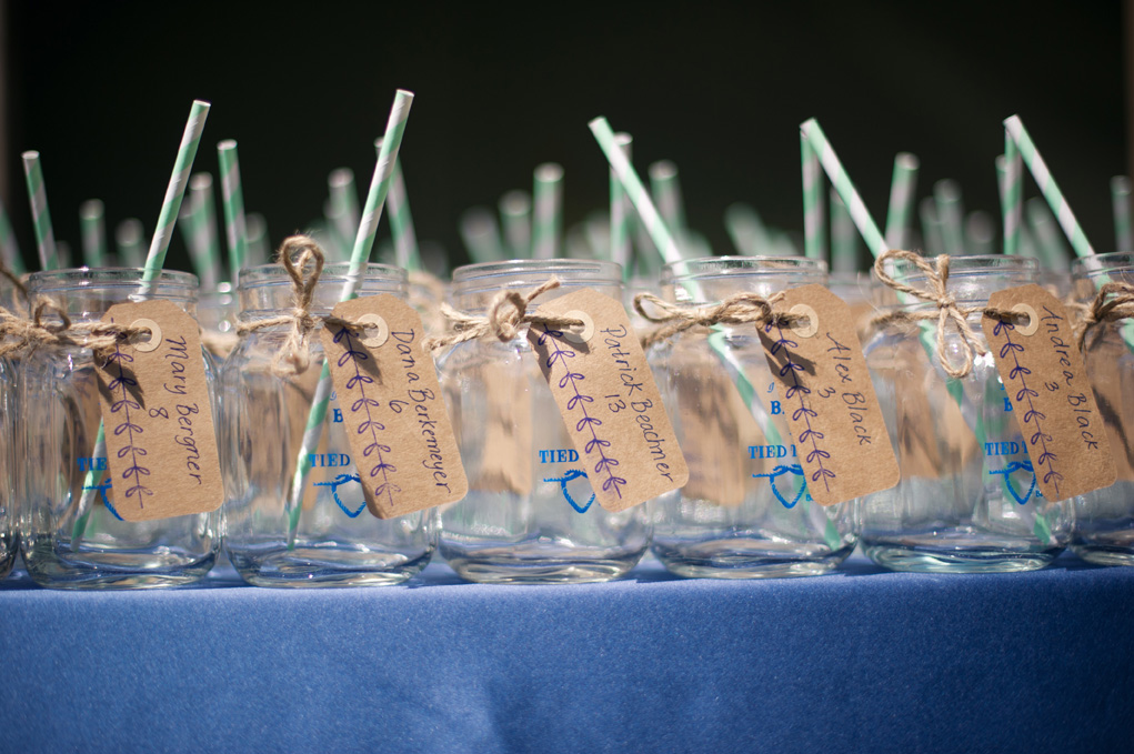 Mason Jar Mugs | Colorful Straws | Tableau Events