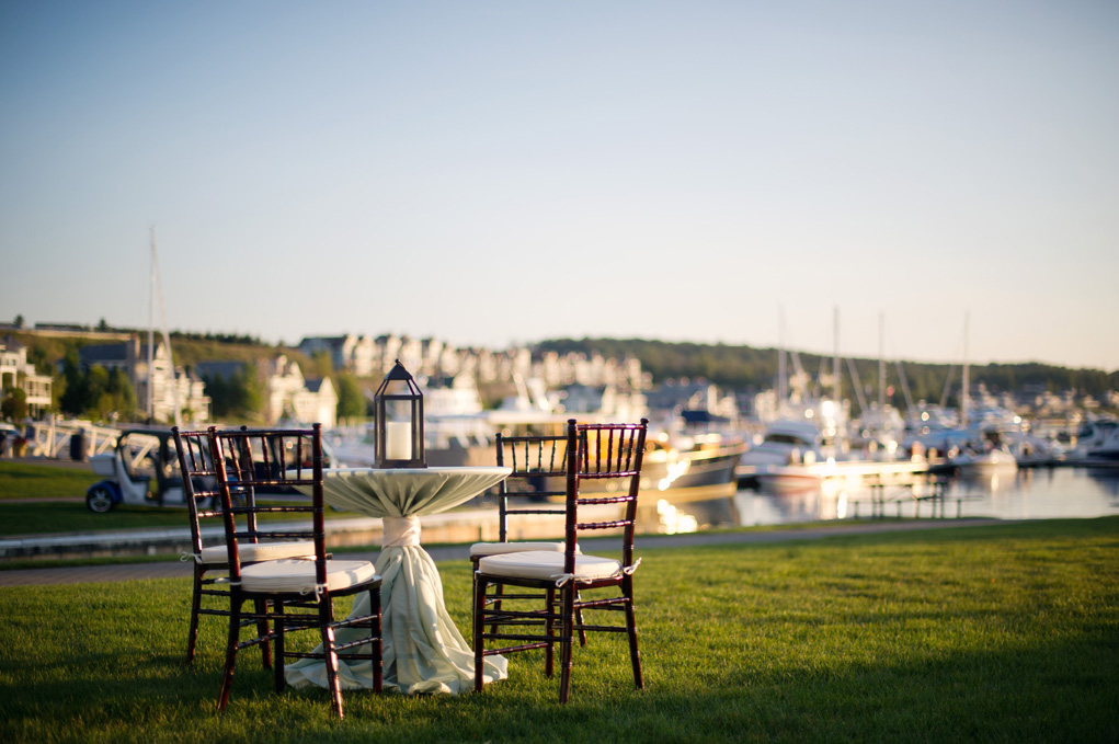 Bay Harbor | Sweetheart Table | Tableau Events
