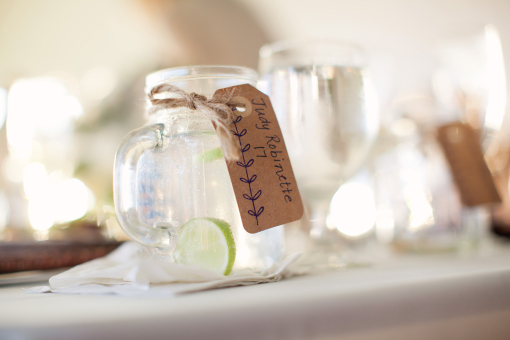 Mason Jar Mugs | Lime Accents | Tableau Events