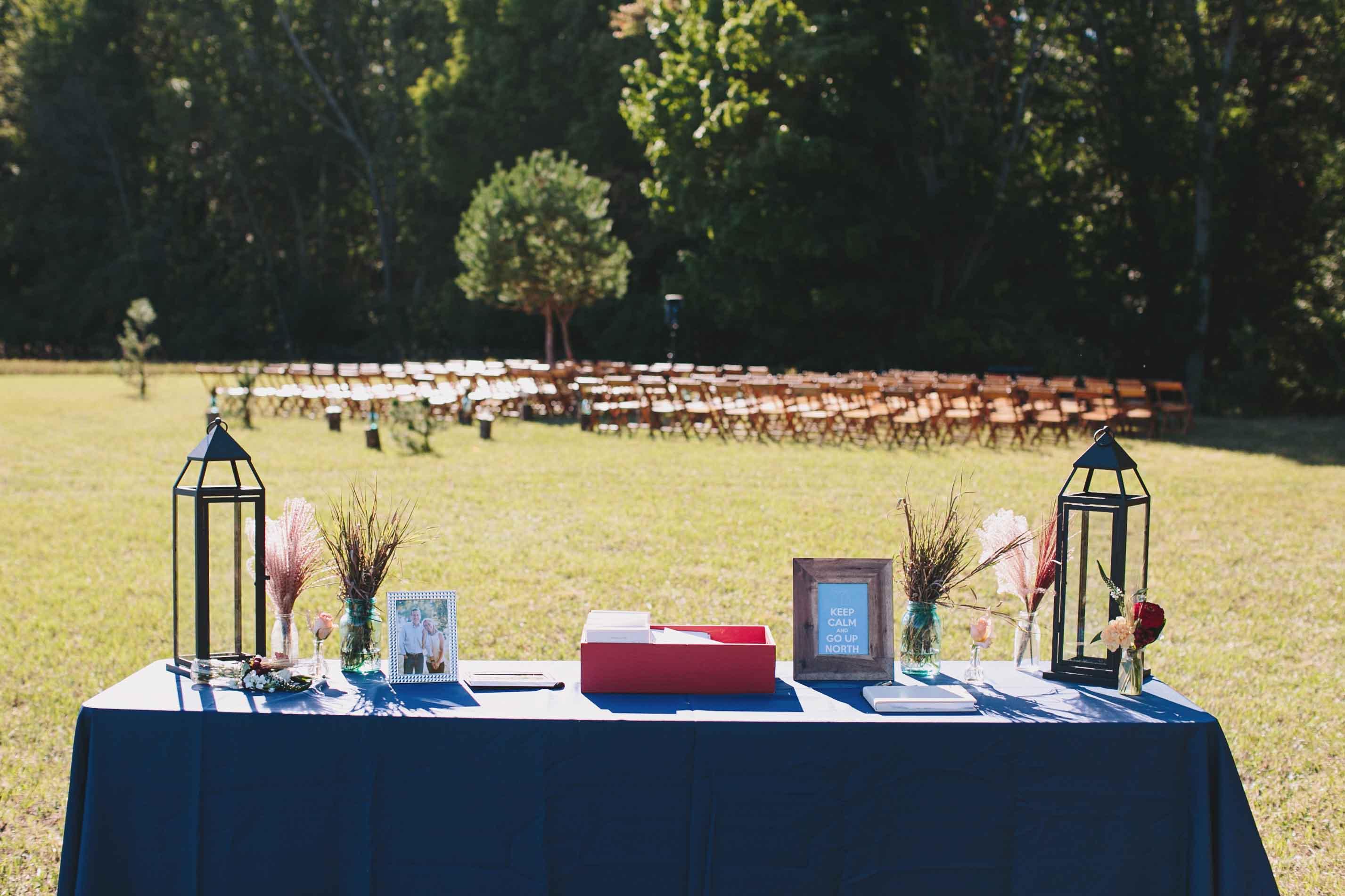 Rustic Ceremony | Boho Wedding | Fall Decor | Tableau Events