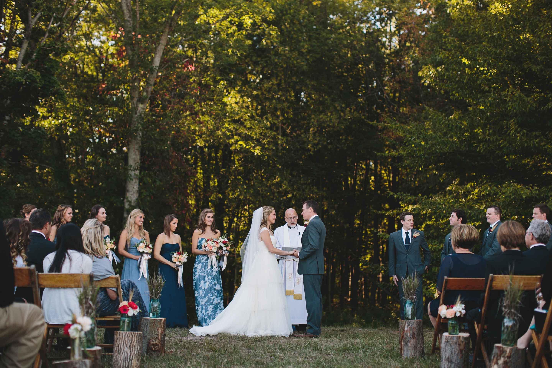 Fall Wedding | Rustic Wedding | Tableau Events