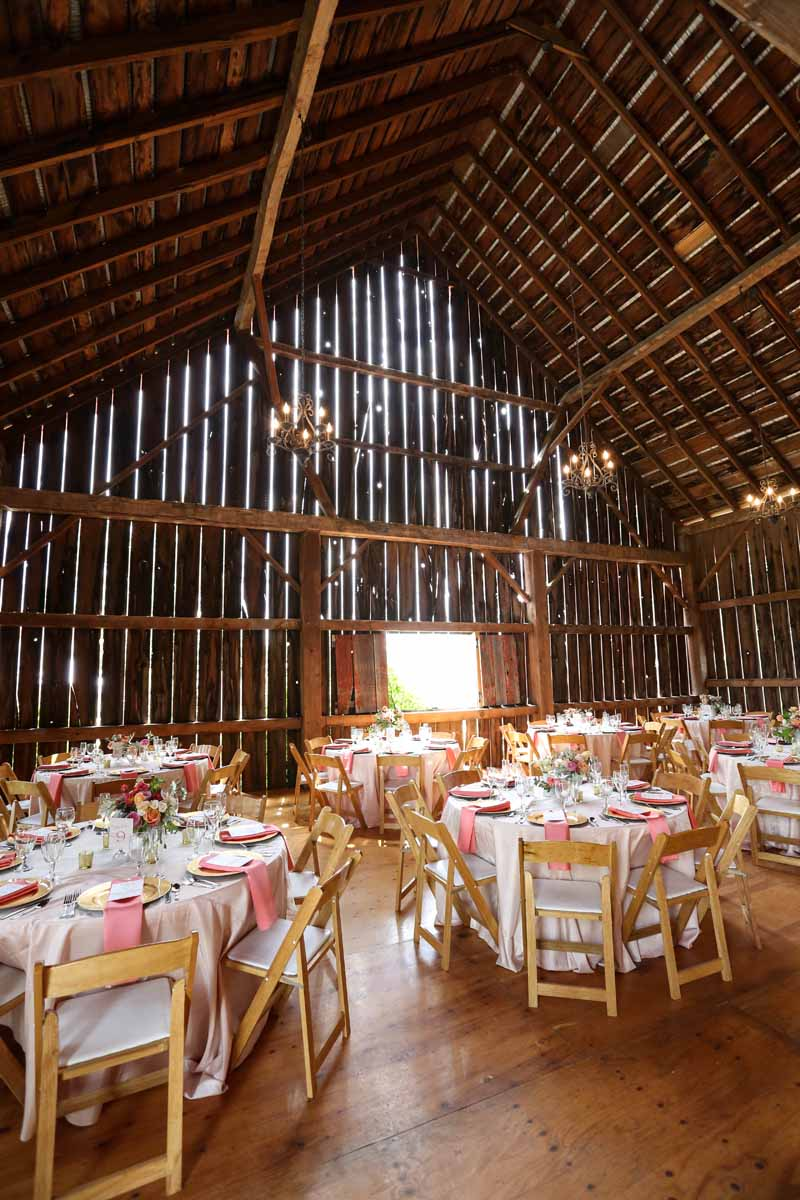 Indoor Barn Wedding | Traverse City Michigan | Tableau Events