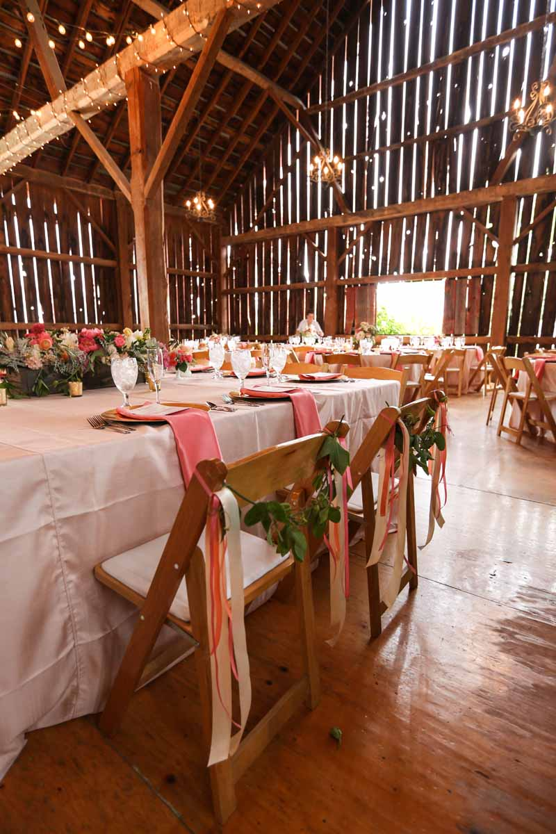 Northern Michigan Indoor Barn Wedding | Tableau Events
