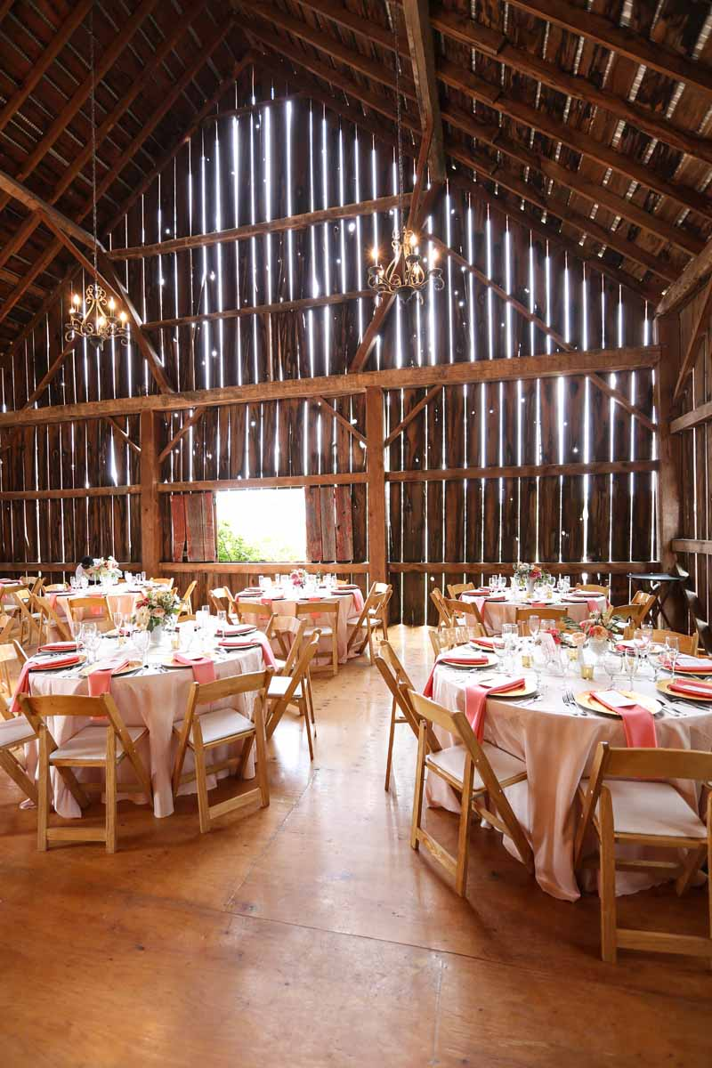 Barn Wedding Reception | Northern Michigan | Tableau Events