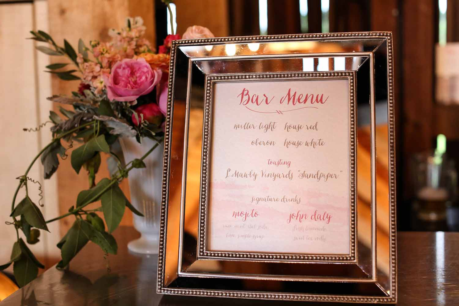 Custom Bar Menu | Mirror Frame | Tableau Events