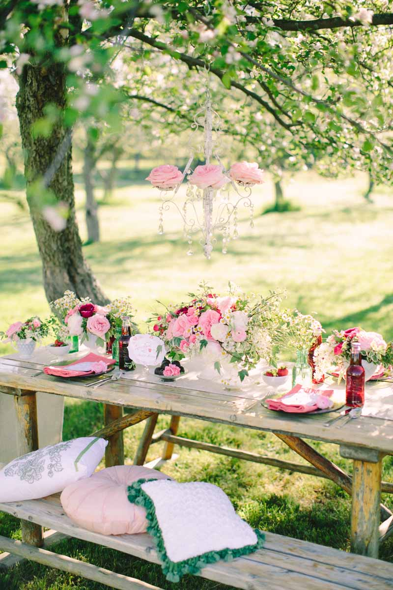 Cherry Blossom | Picnic Table | Tableau Events | BLOOM