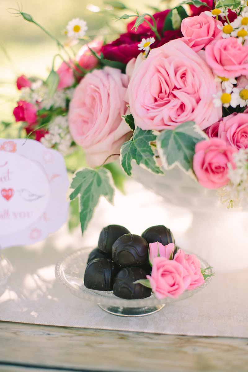 Pink Garden Roses | BLOOM | Tableau Events