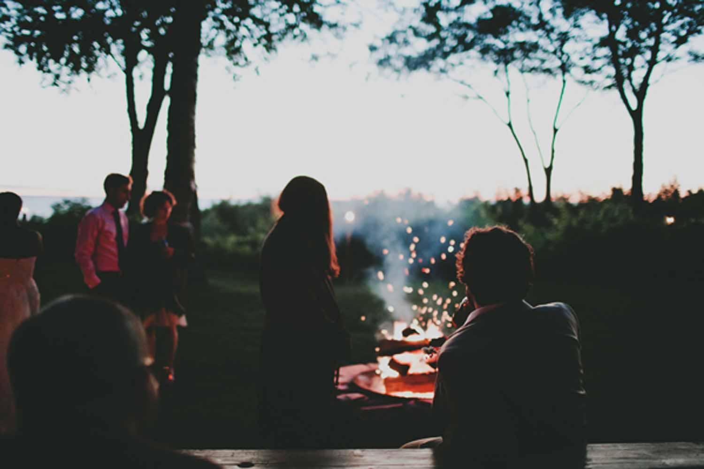 Outdoor Wedding Reception | Tableau Events