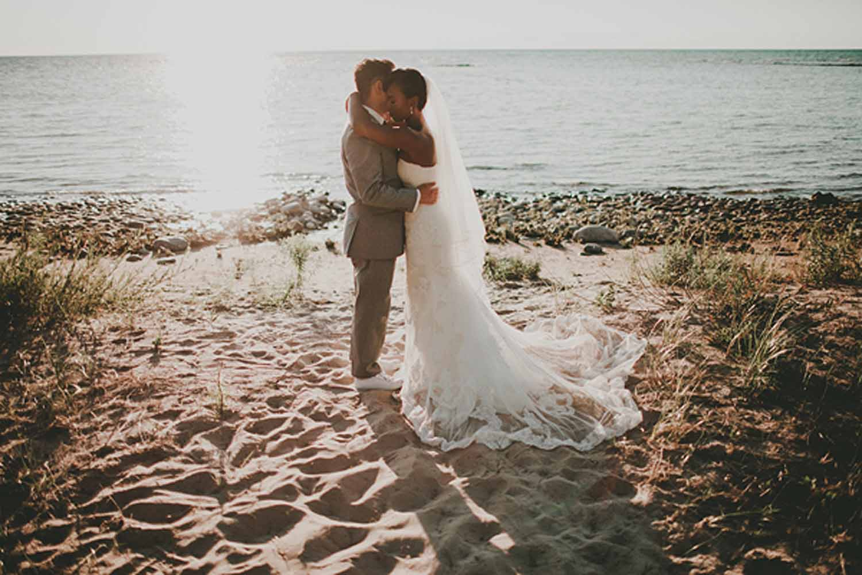 Northern Michigan | Summer Beach Wedding | Tableau Events