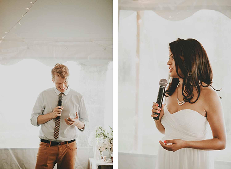 Wedding Speeches | Northern Michigan Wedding Planning and Design | Tableau Events