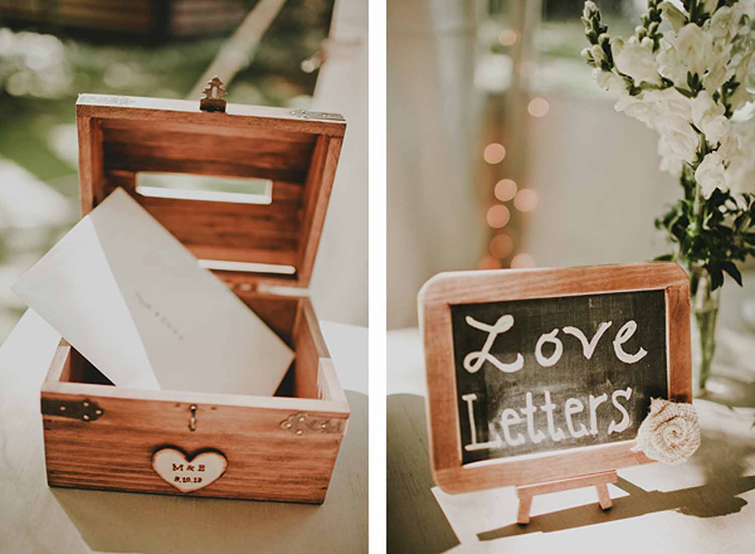 Love Letters | Personal Touches | Tableau Events