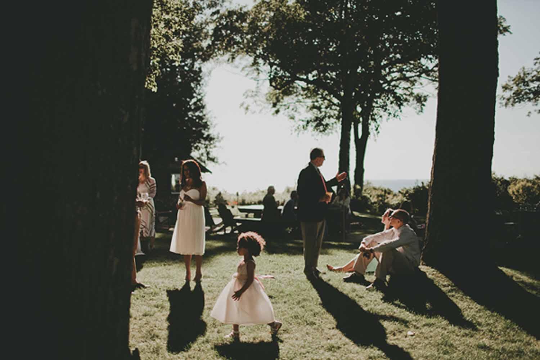 Lake View | Backyard Wedding | Tableau Events