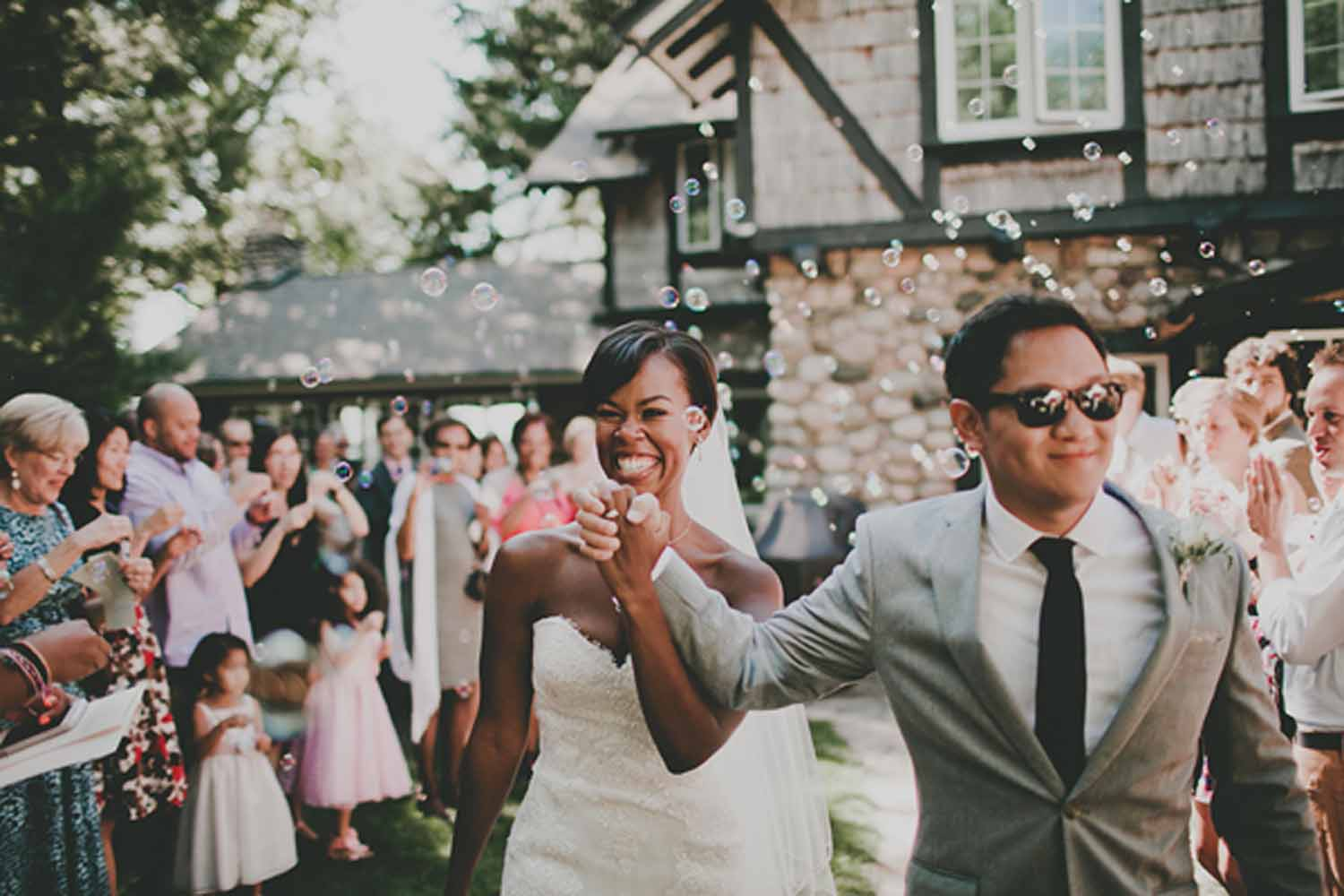 Stone House Accents | Northern Michigan Outdoor Wedding | Tableau Events