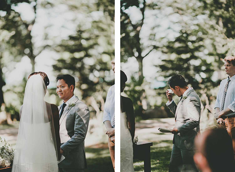 Ceremony | Vows | Northern Michigan Wedding | Tableau Events