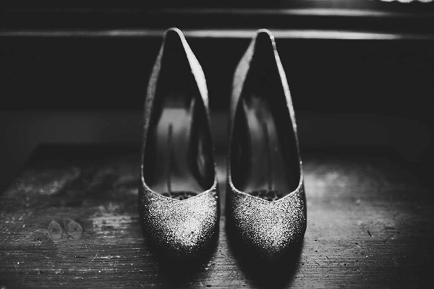 Bridal Shoe Details | Northern Michigan Wedding Planning and Design | Tableau Events