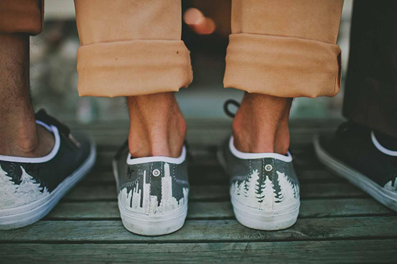 Custom Details | Wedding Sneakers | Tableau Events