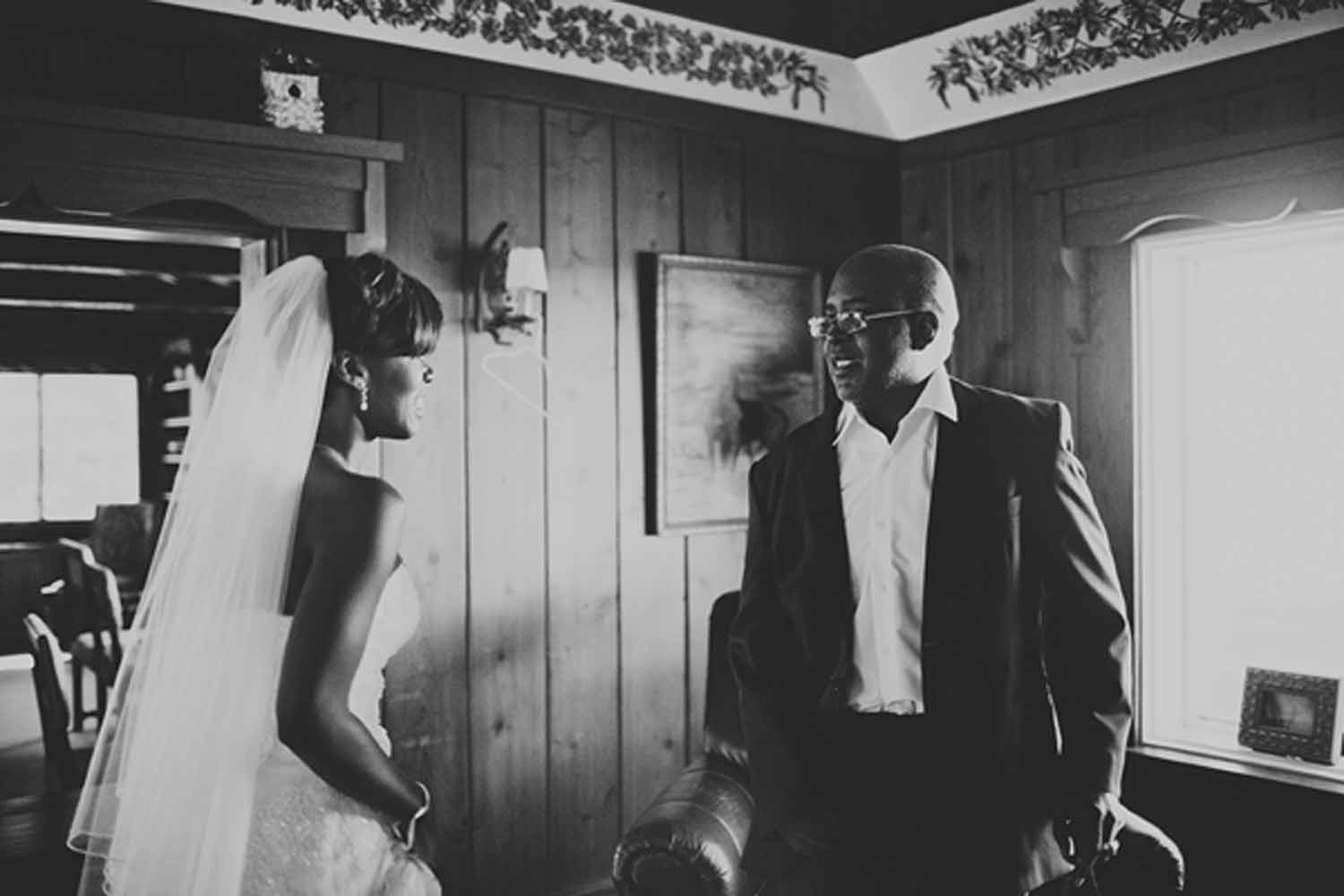 Bride and Father | Northern Michigan Wedding Planning and Design | Tableau Events
