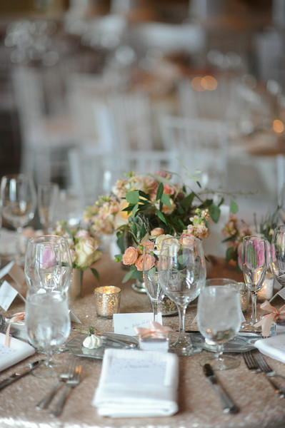 Low Floral Arrangement | Northern Michigan Wedding Planning | Tableau Events