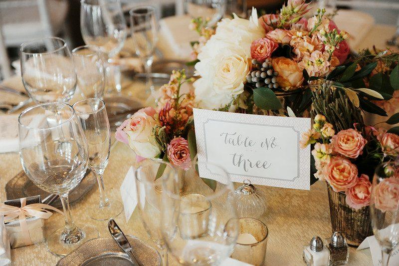Custom Printed Table Numbers | Tableau Events