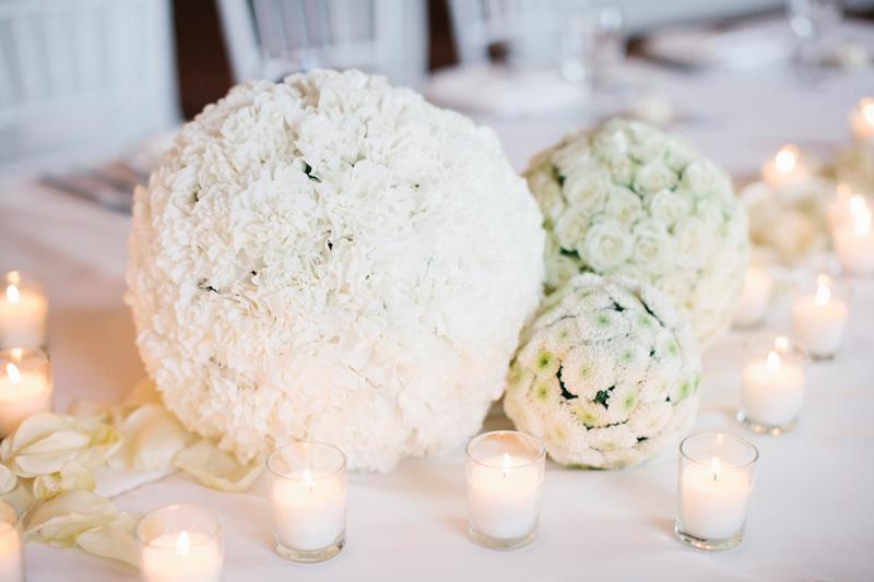 White Flowers | Bloom Floral Design | Tableau Events