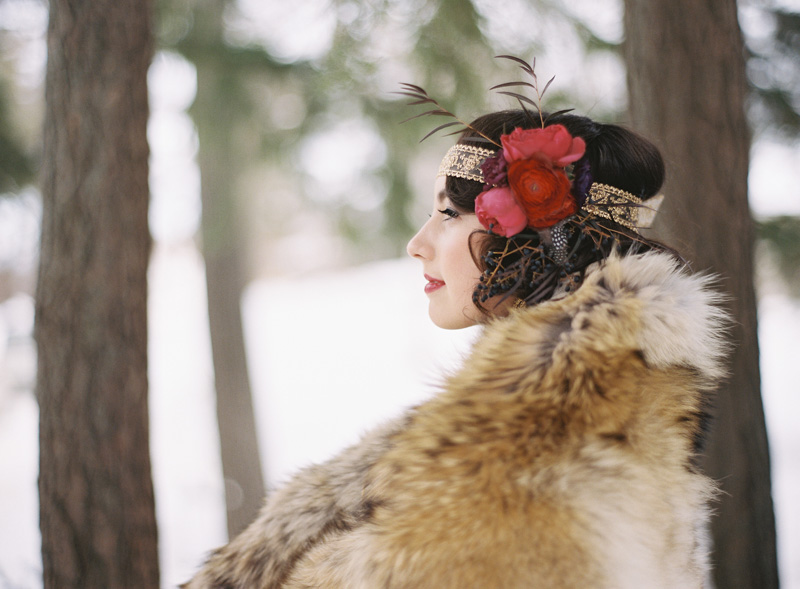 Winter Wedding Styled Shoot | Northern Michigan | Tableau Events | BLOOM | Weber Photography
