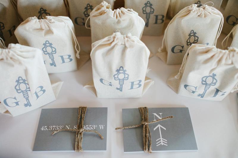 Gift Bags | Custom Couple Logo | Tableau Events
