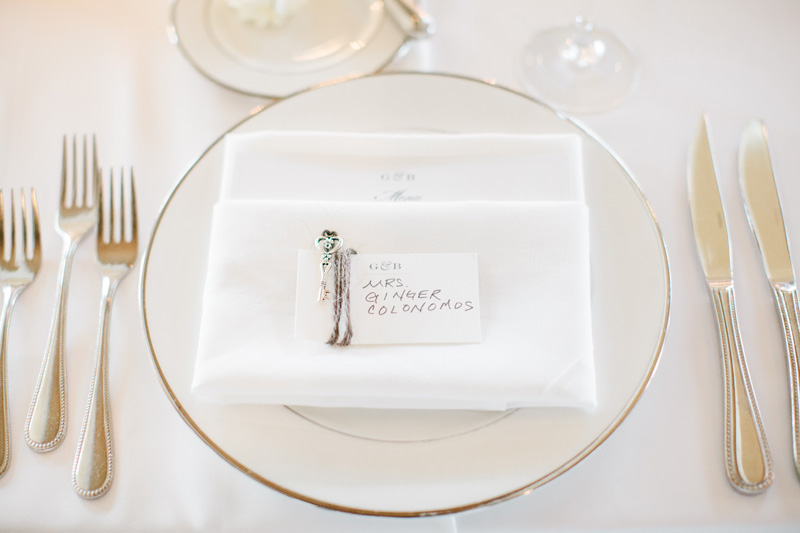 Place Cards | Formal Wedding | Tableau Events