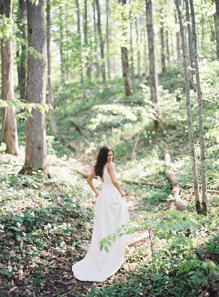 Elegant Forest Wedding | Northern Michigan Bride | Tableau Events