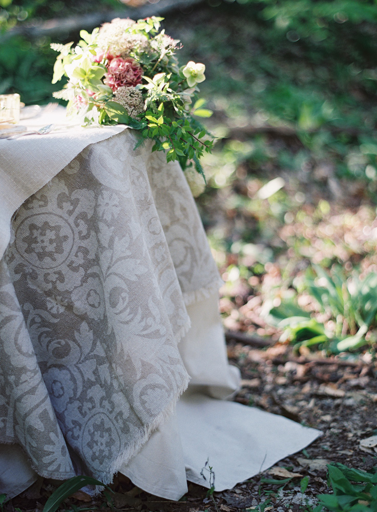 Patterned Table Linens | Tableau Events