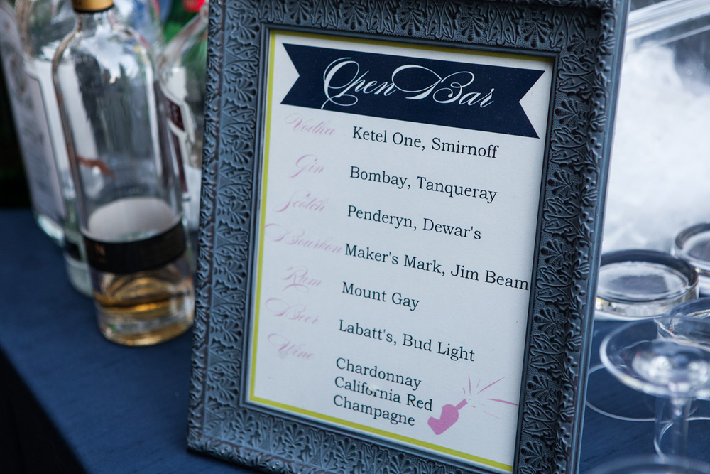 Northern Michigan Wedding | Navy and Green | Tableau Events