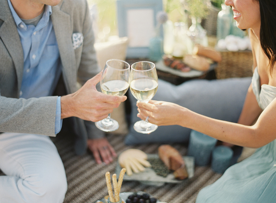 Outdoor | Summer Picnic | White Wine | Tableau Events