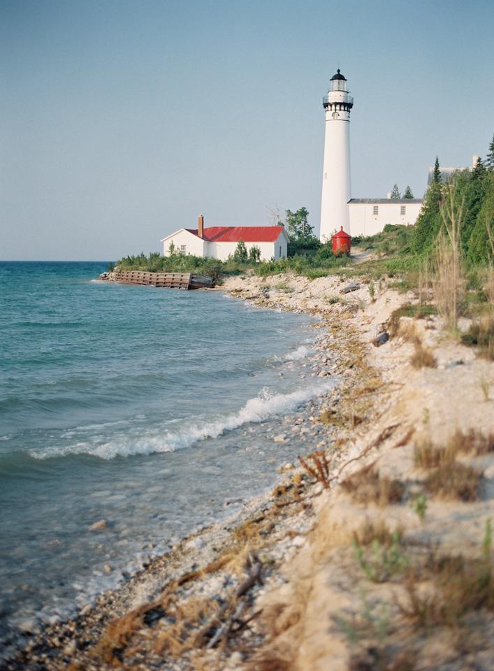 South Manitou Island | Lighthouse Wedding | Tableau Events