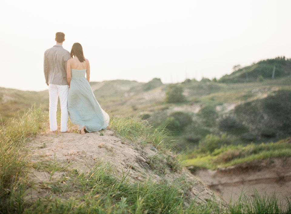 Northern Michigan Beach Wedding | Tableau Events