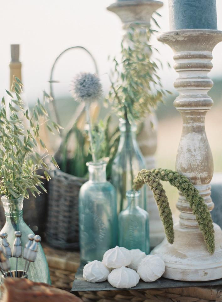 Sea Glass | Beach Wedding Inspiration | Tableau Events
