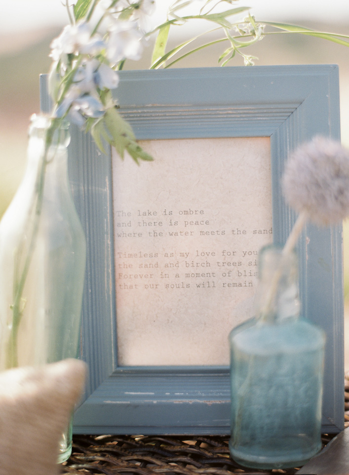 Wedding Love Poem | Tableau Events