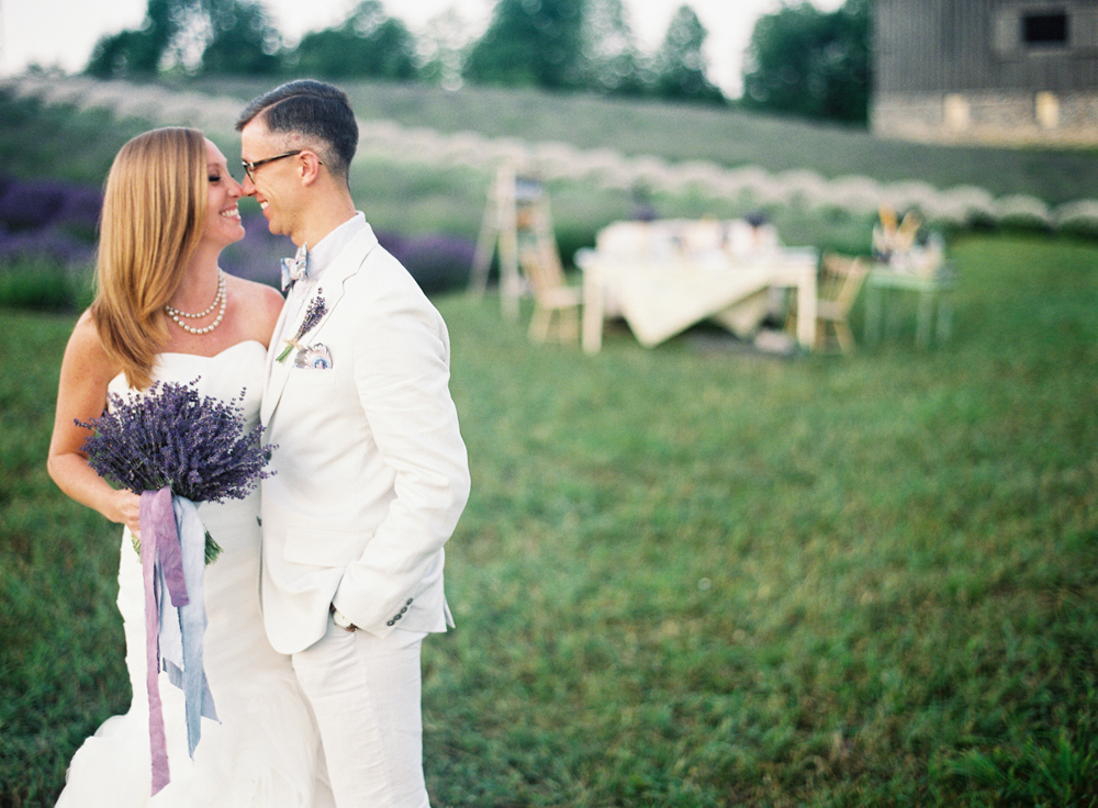 Outdoor Lavender Farm Wedding | Tableau Events