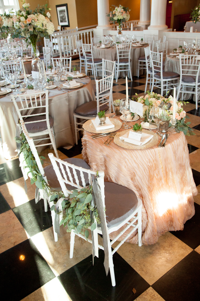 Sweetheart Table | Northern Michigan Wedding Planning | Tableau Events