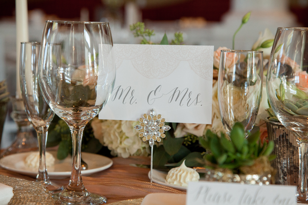 Sweetheart Table | Northern Michigan Wedding | Tableau Events