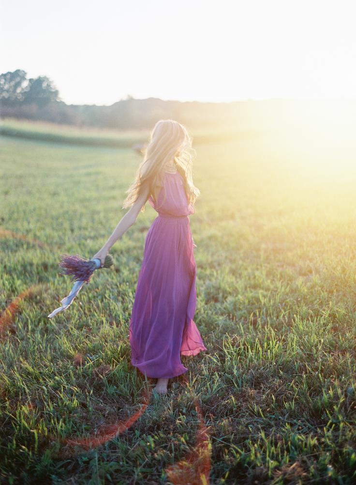 Lavender Farm | Flower Girl | Tableau Events