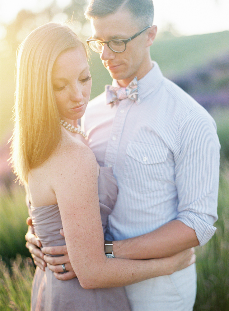 Sunset | Northern Michigan Lavender Farm | Tableau Events