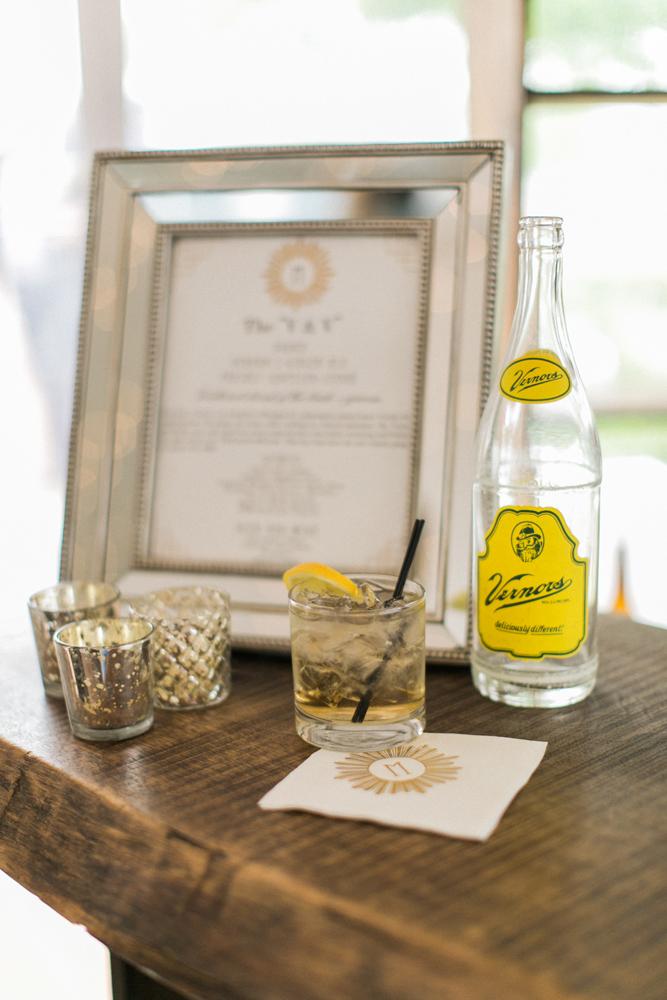 Custom Bar Menu | Signature Drinks | Tableau Events