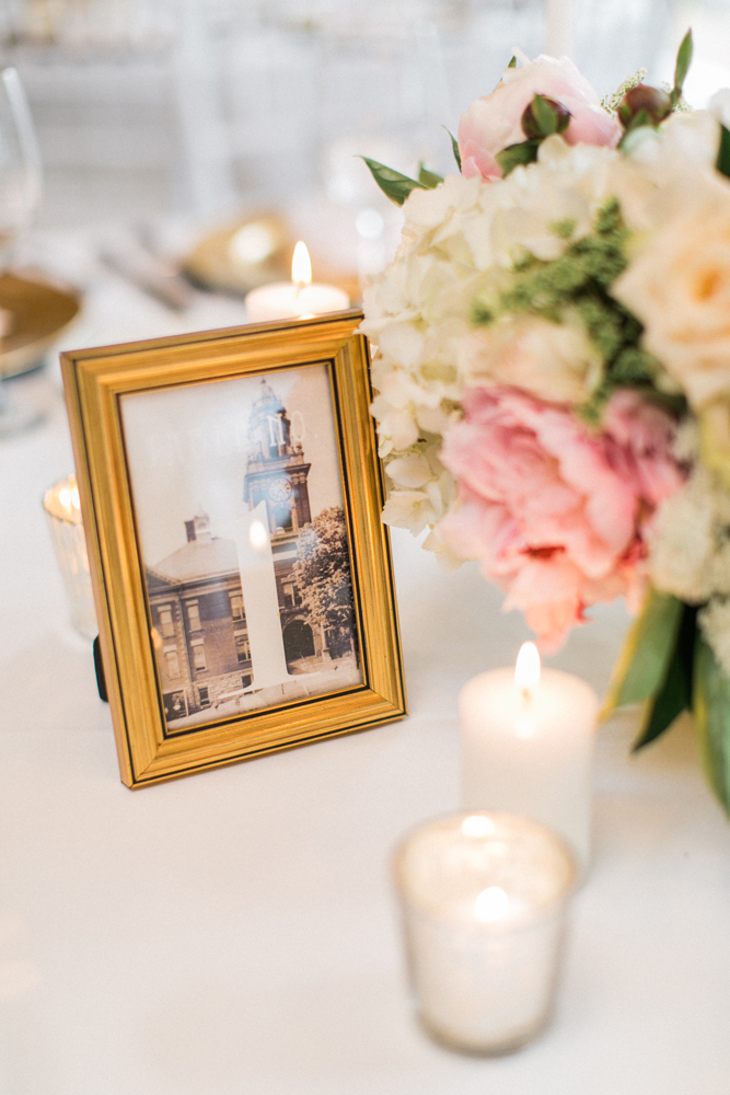 Framed Table Numbers | Tableau Events