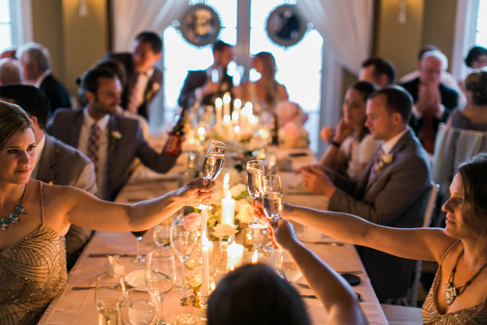 Candle Light Dinner Reception | Northern Michigan Wedding Planner | Tableau Events