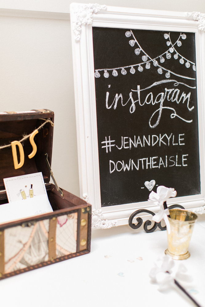 Chalkboard Sign | Instagram | Card Table | Tableau Events