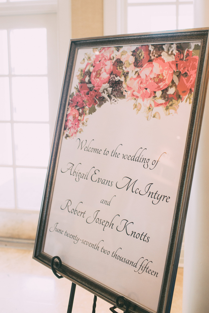 Wedding Welcome Sign | Framed | Tableau Events