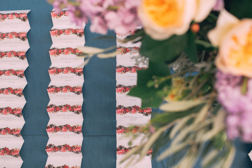 Northern Michigan Wedding Details | Tableau Events