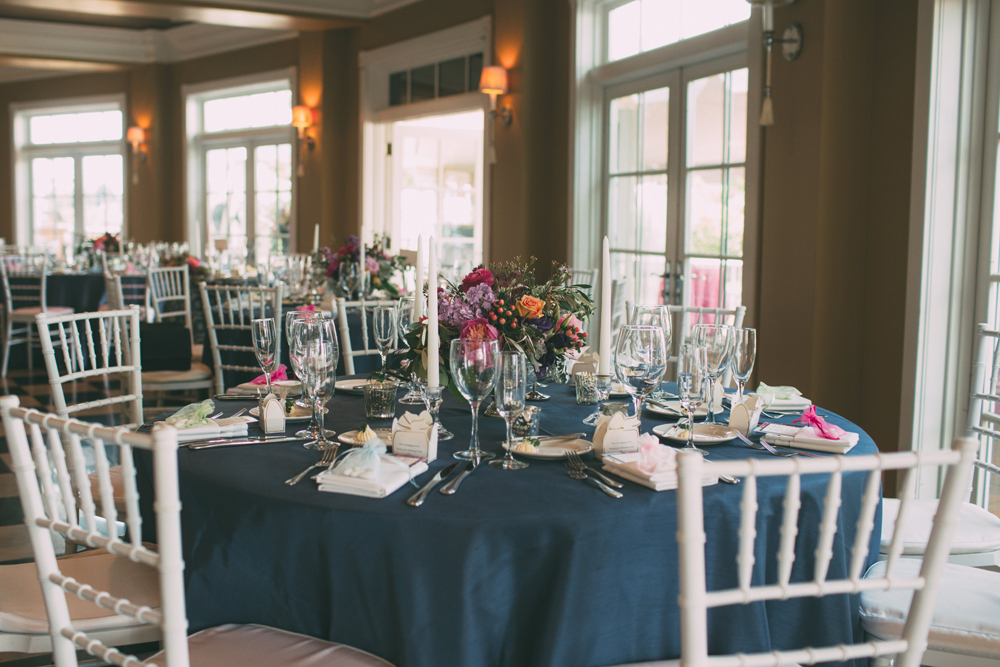 Indoor Wedding Reception | Inn at Bay Harbor | Tableau Events