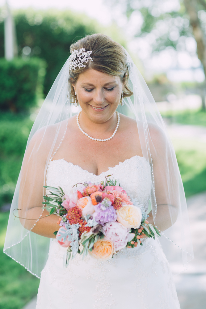 Northern Michigan Bride | Blush Pink Green Pastel Bouquet | Tableau Events