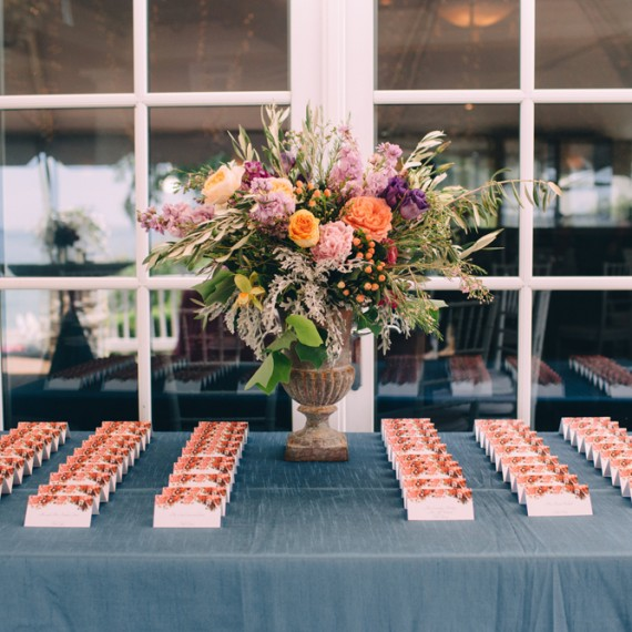 Seating Arrangement | Place Card Table | Tableau Events