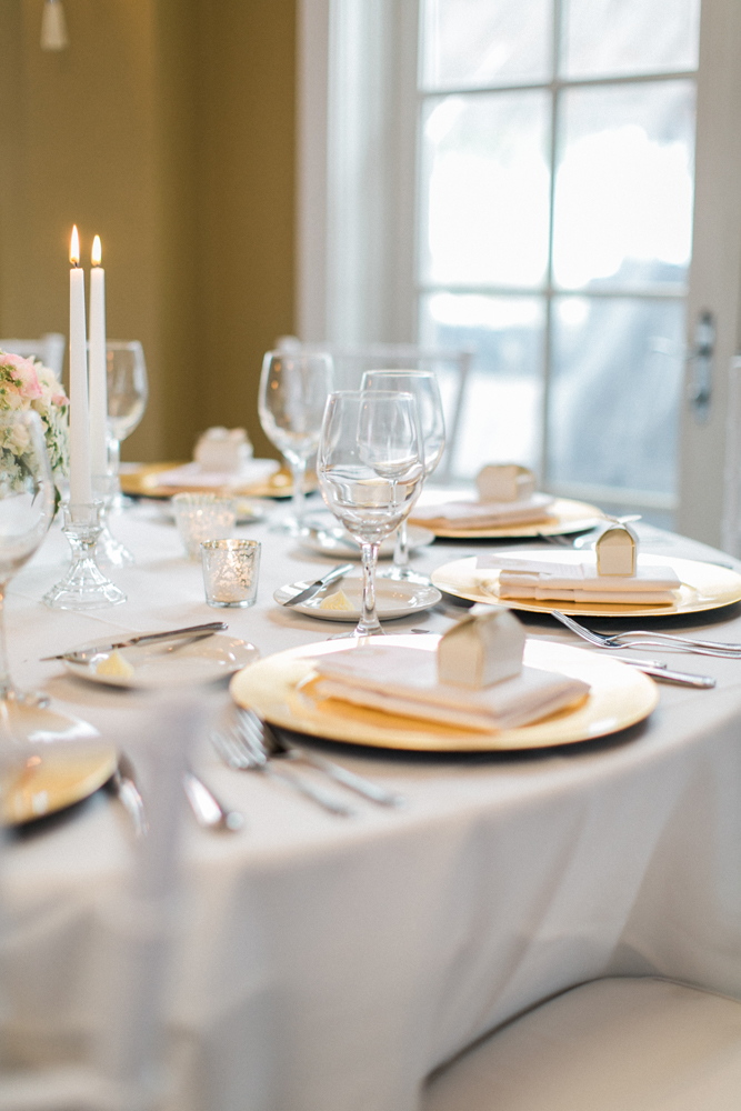 Gold Charger Plates | Wedding Planning | Tableau Events